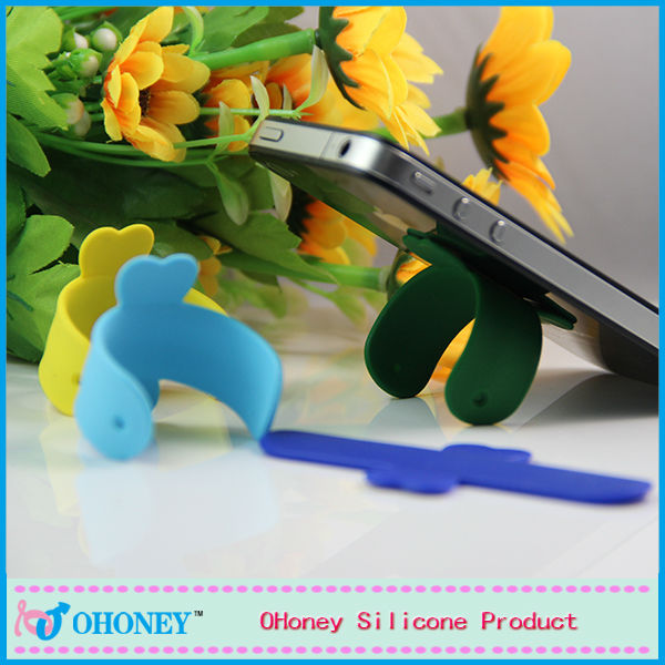 2014 new holder cell phone holder with silicone slap cell phone holder china