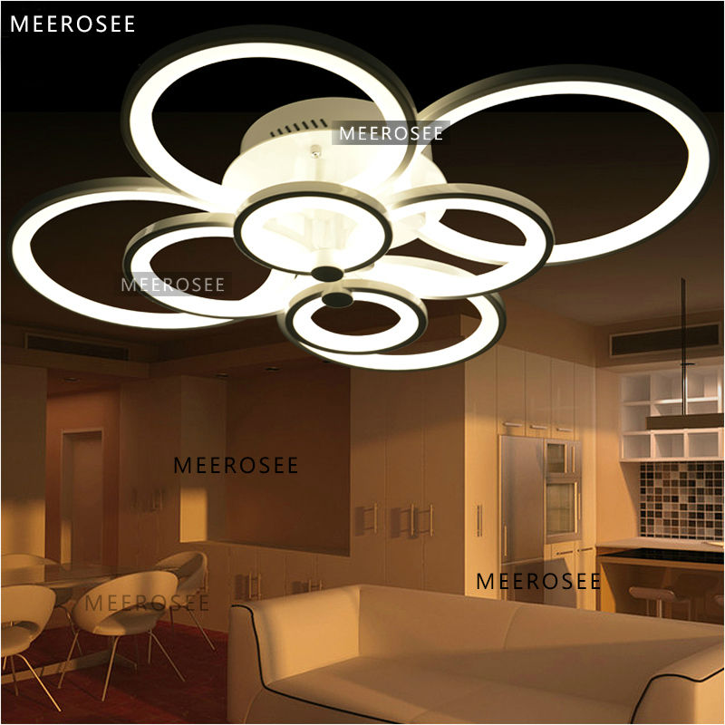 New Style Acrylic Pendant Lamp Vintage Lights Contemporary ...