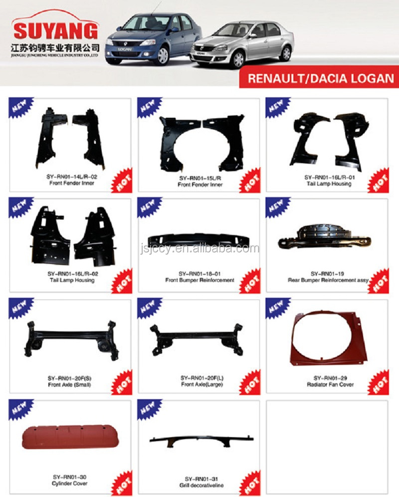 Best Price Renault Koleos Aftermarket Auto Body Parts