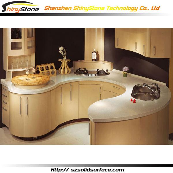 Encanto Forma Circular Diseño Moderno Diseño De La Cocina Superficie ...