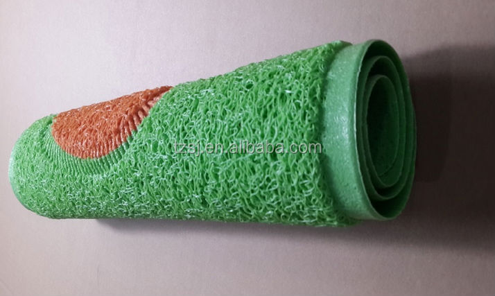 Pvc Non Toxic Shower Rug/anti Slip Bath Mat/plastic Foot Mat