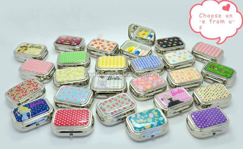 Decorative pill cases