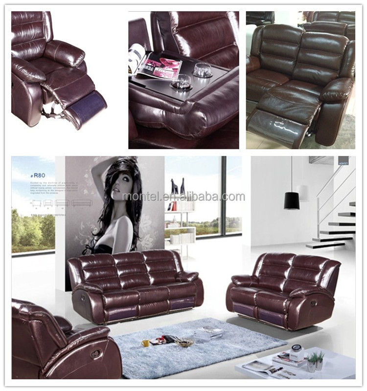 Cheers Furniture Company: Nitaly Cheers Leather Sofa Recliner,electric Recliner