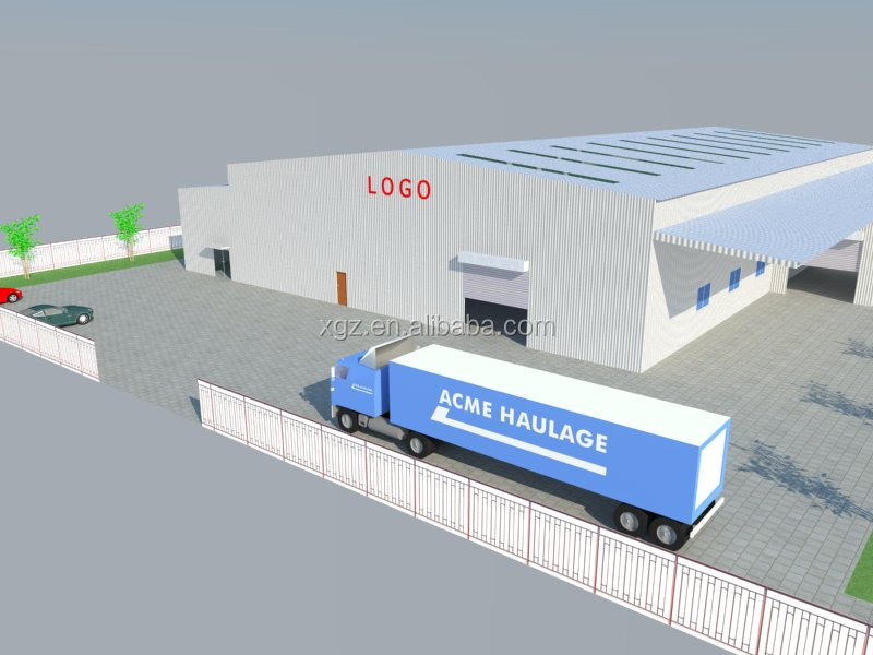 the quickly erectable warehouse