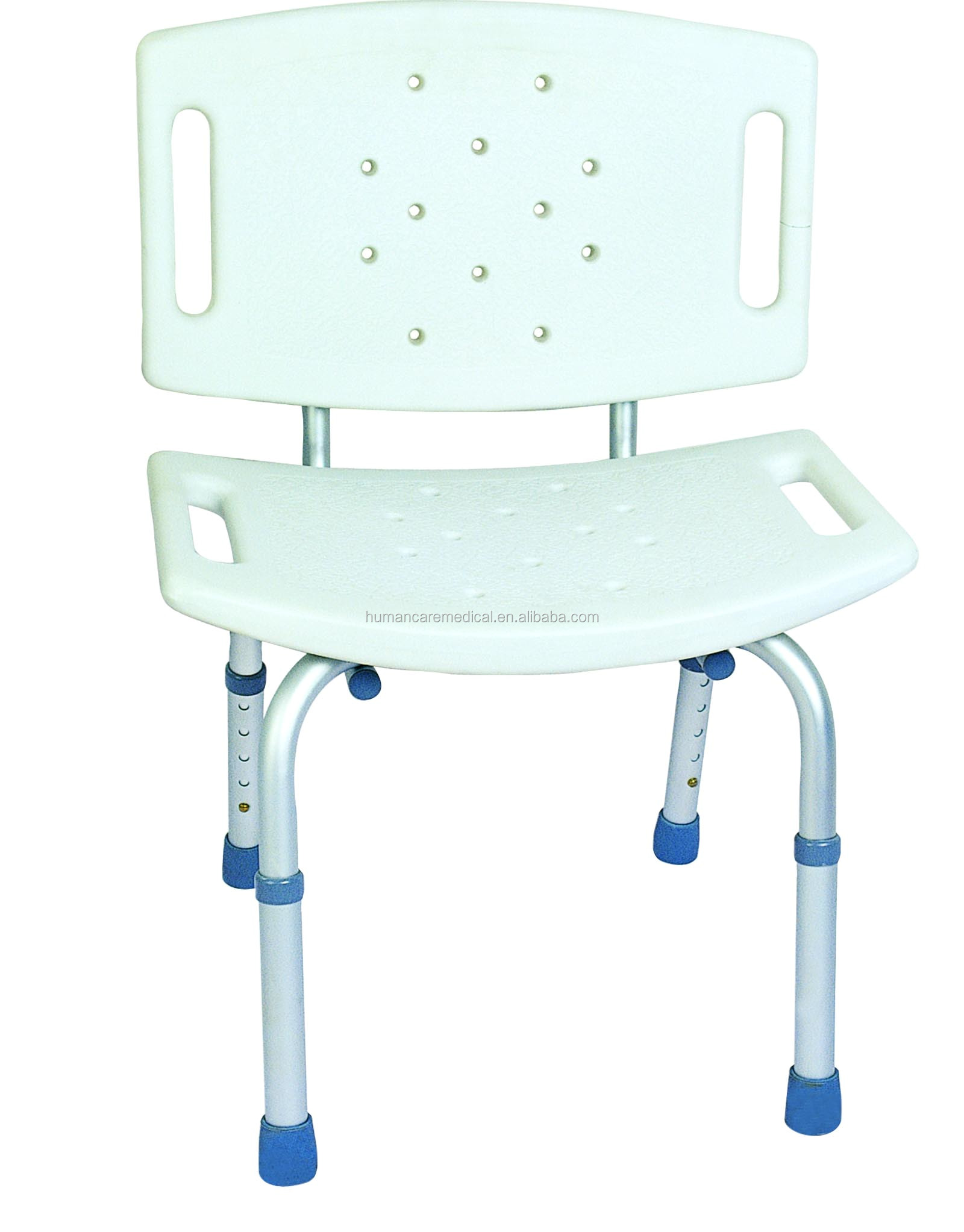 Durable Heavy Duty Tub Shower Chair With Height Adjustable And Pe ...