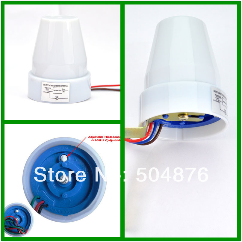 Automatic Light Sensor Outdoor: Waterproof Light sensor switch,Day night light sensor,outdoor LED lamp  light sensor proximity,Lighting