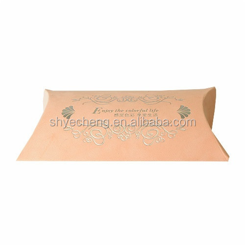 fashion cheap wholesales package paper pillow box manufacturer