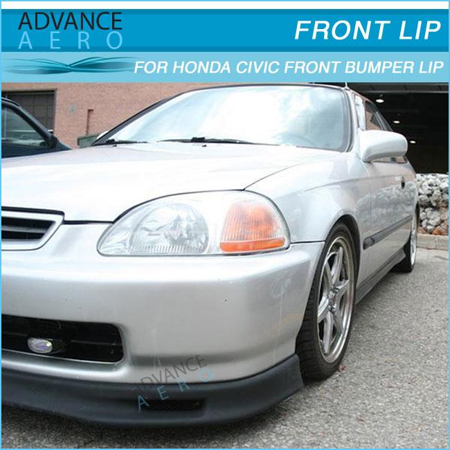 For 99 00 Honda Civic Ek Spoon Style Pu Auto Parts Car Accessories ...