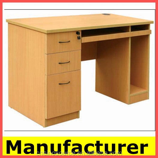 Cheap Morden Wooden Office Parts computer Table Computer Desks