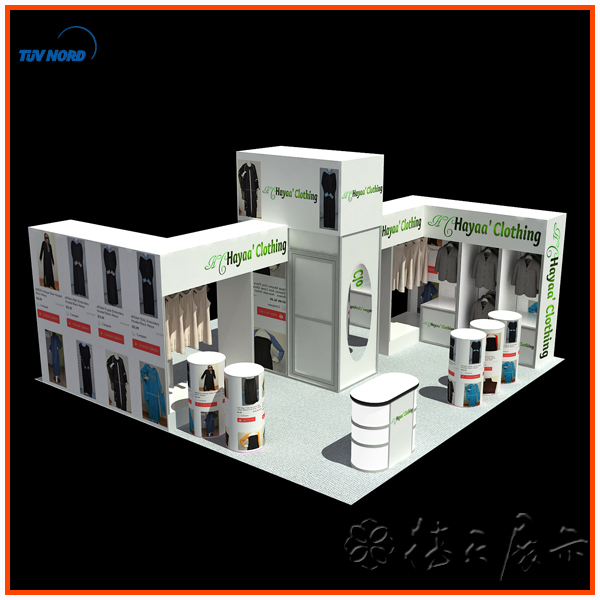 International Food Exhibition Booth Fair Show Booth