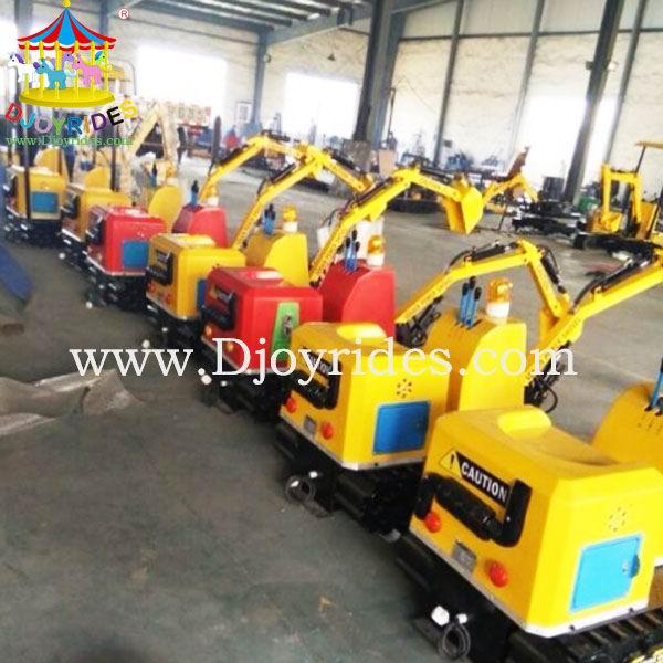 Pabrik Langsung Produsen Murah Excavator untuk Dijual/Favorit Anak-anak Taman Excavator Wahana Permainan