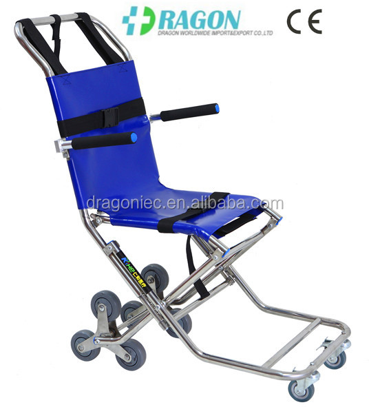 Dw st007 sillas que subir escaleras evacuaci n silla for Silla que se hace escalera