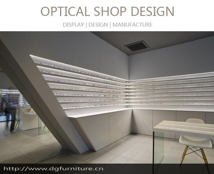 Furniture Showcase Interior Design Easley Sc ~ Modern interior display showcase designs of optical shops