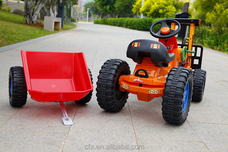 Newest Style Children Ride On Trailer Toy Pick-up Truck For Sale ...