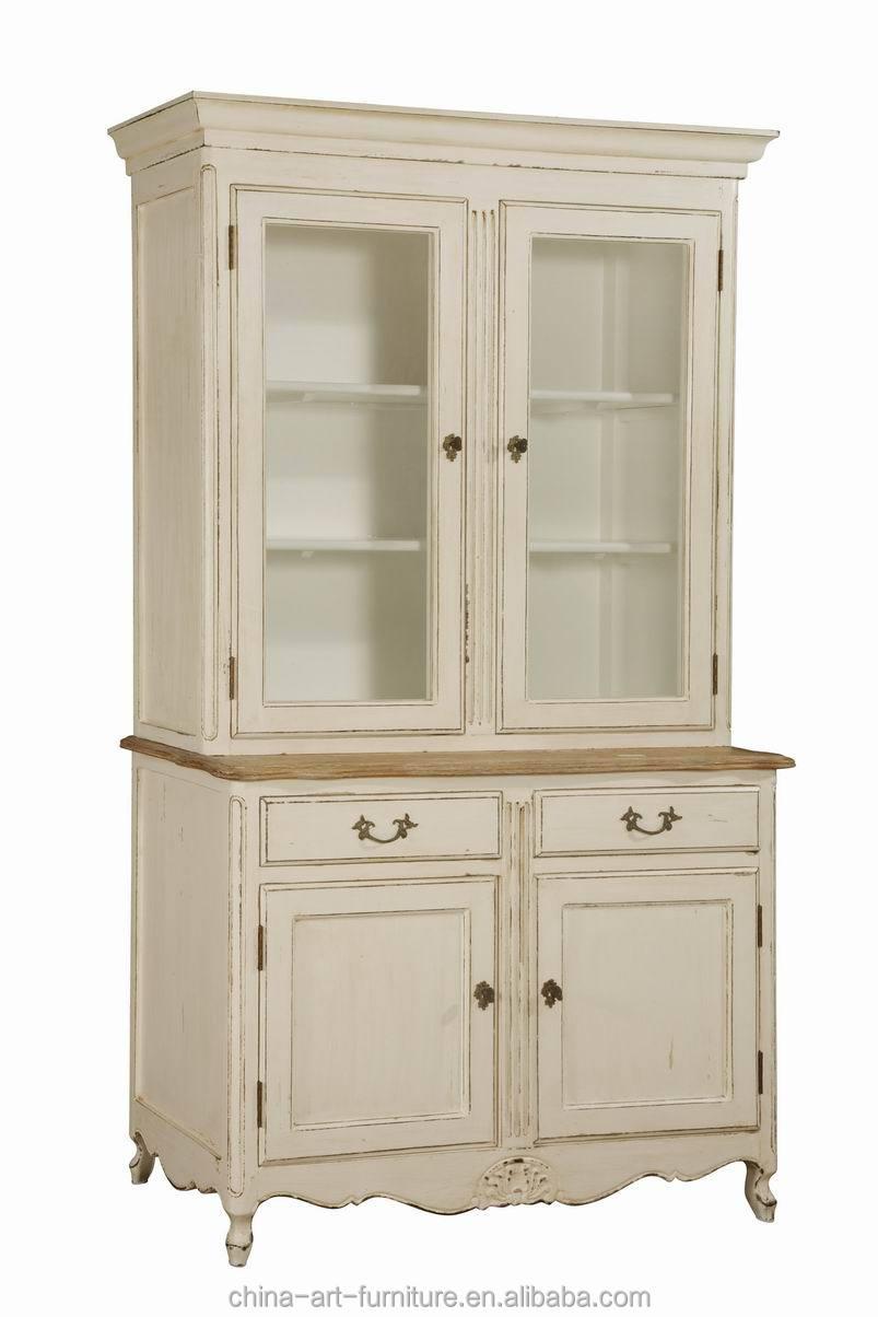 Antique Furniture European Design Kitchen Room Wooden Cupboard