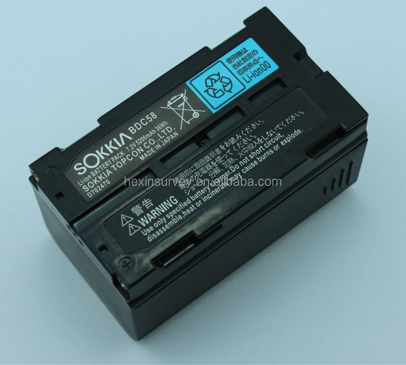 Sokkia BDC58 battery
