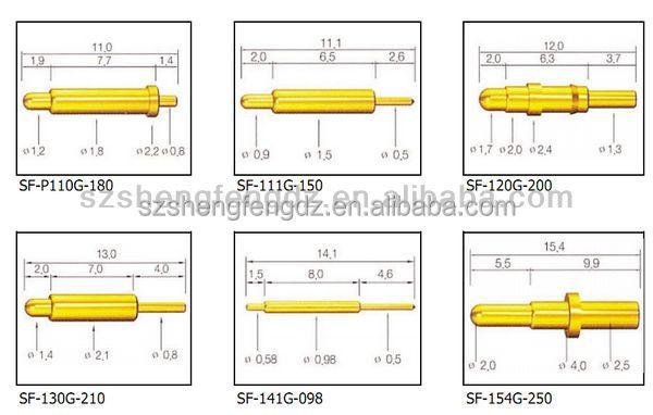 Low Price Electronics Custom Testing Spring Loaded Pogo