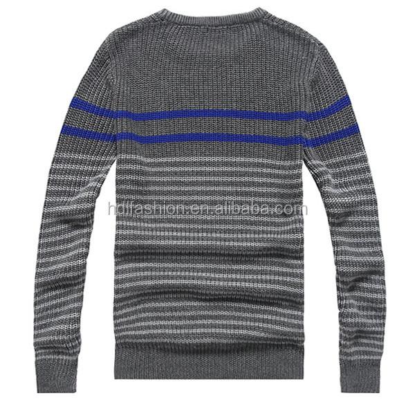 Tejer Patrón De Rayas Suéter De La Vendimia Suéter - Buy Product on ...