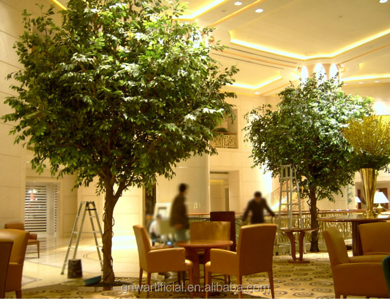 Large Garden Decoration Plastic Trees Green Banyan Tree for Sale ...