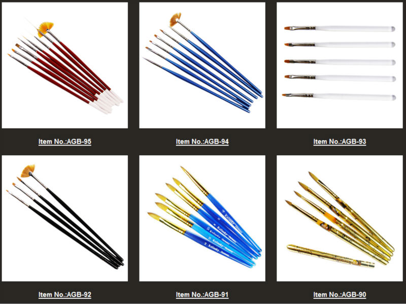 Nail Art Brush Names - Buy Nail Art Brush Names,Kolinsky Nail Art ...