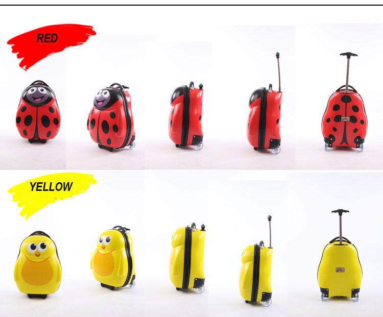 Kids' Lovely Abs Children Cartoon Wheeled Cabin Luggage - Buy ...