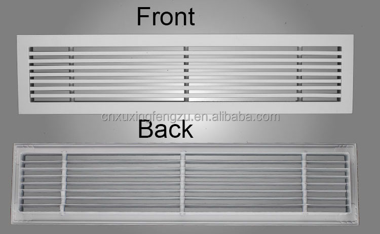 hvac grille and diffuser linear bar grille ventilation. Black Bedroom Furniture Sets. Home Design Ideas
