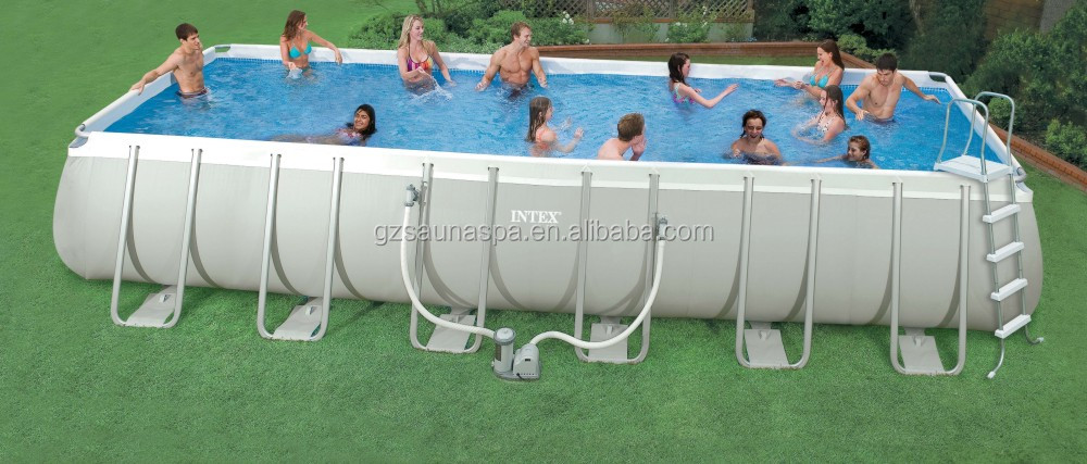 Intex Rectangular Ultra Frame Swimming Pools Buy Intex
