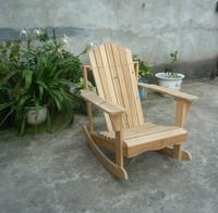 Outdoor Adirondack Rocking Wooden Beach Chair - Buy Wooden ...