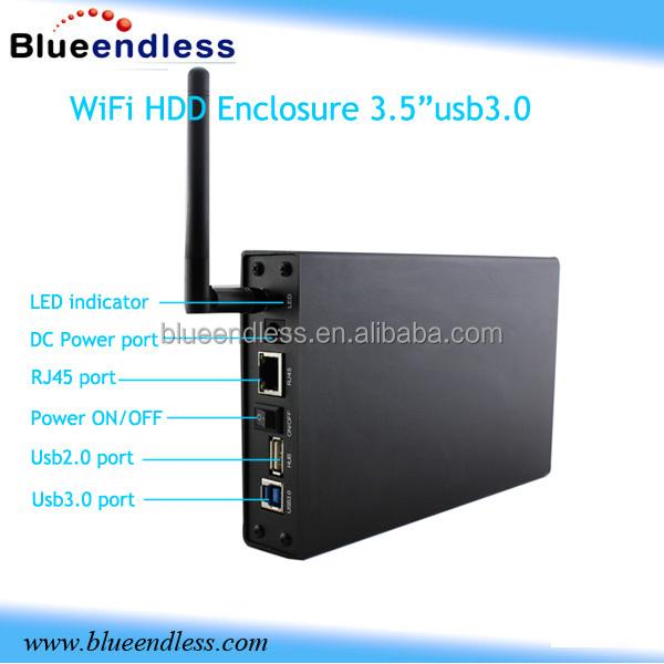 Kimax Wireless Router Sata Hard Disk Drive Case Usb 3.0 3.5 ...