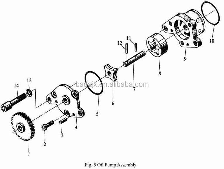 Jinma Tractor Parts : Jinma tractor ty diesel engine parts