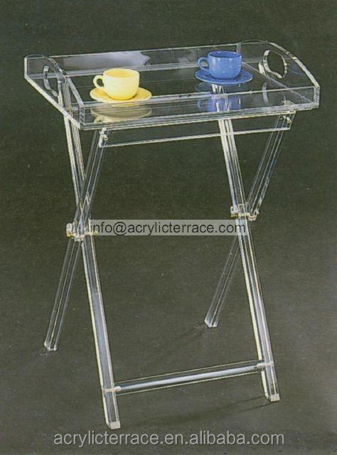 Ha14030101046 Acrylic Serving Tray Vanity Tray Table
