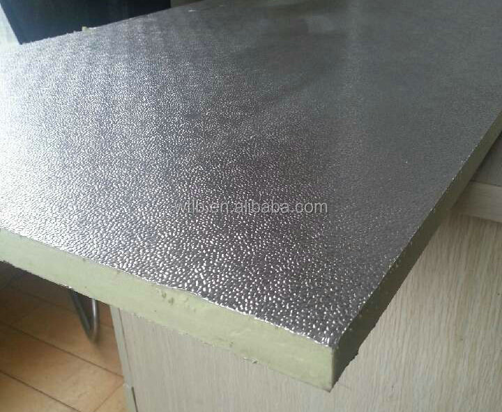 Fire Resistant Embossed Aluminum Foil Xps Polystyrene