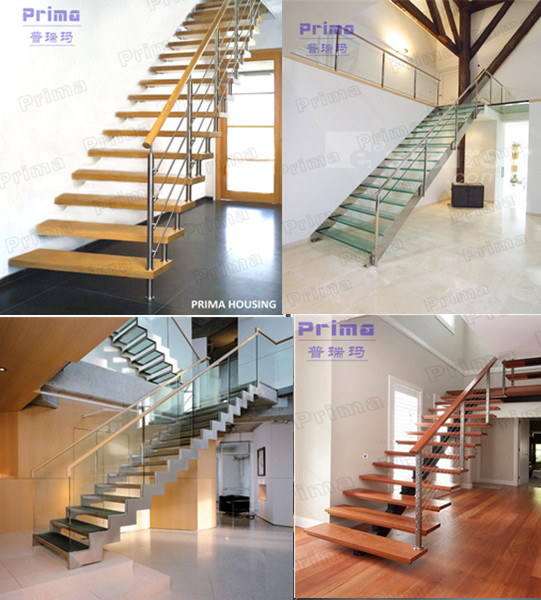 Supply Diy Wood Floating Stairs Solid Wood Stair Treads Pr