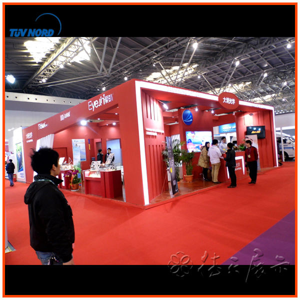Food Exhibition Stall : International food exhibition fair show booth stand