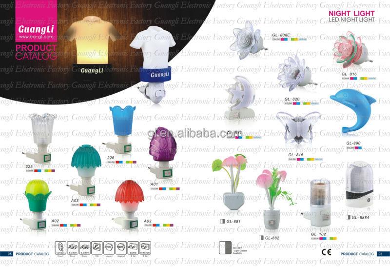 Children Toy List ^-^ Kids Night Lamp Led Night Light The Plug-in ...