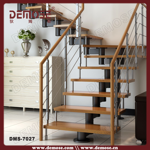 easy modern stairs design indoor. u shape indoor mild steel wood staircase designs U Shape Indoor Mild Steel Wood Staircase Designs  Buy