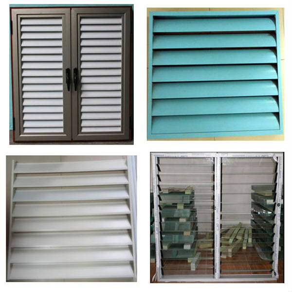 Jalousie Windows With Built In Blinds/electronic Roller