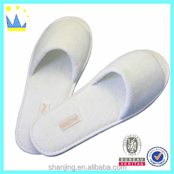 Custom requested wholesale hotel slipper spa slippers luxury terry cloth