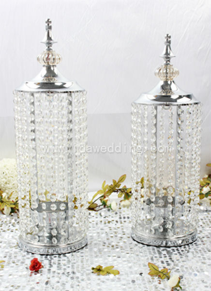 Decoration Candlestick Crystal Chandelier Candle Holders Diy Your