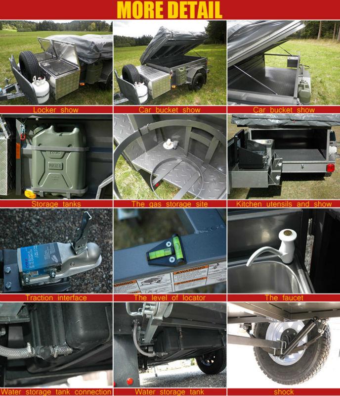 New design camper trailer off-road for sale, View off-road camper ...