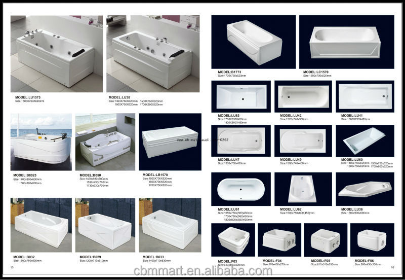 Standard Bathtub Size/bathtub Poland/bathtub For Dubai