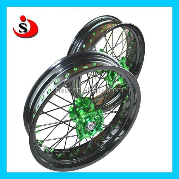 Different Size And Color Spoke Wheel Rims For Motocross Dirt Bike