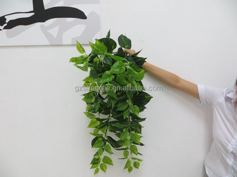 artificial wall hanging plants indoor outdoor decorative hanging
