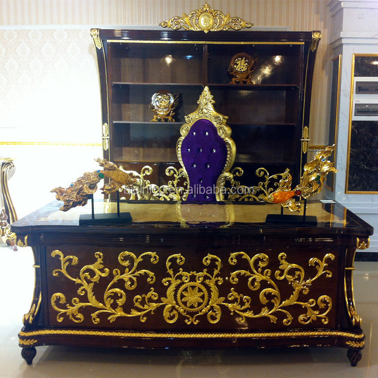 Bisini Baroque Collection Luxury Antique Gilded Executive