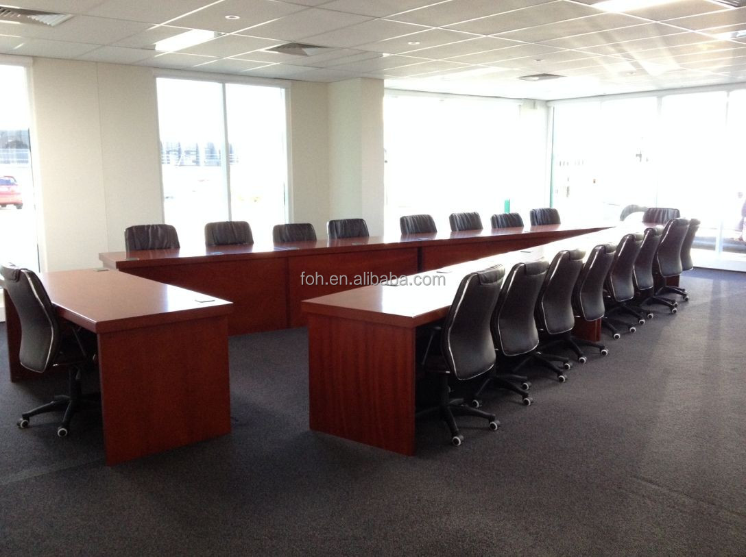 v shaped table conference room furniture fohvc 001 buy conference room furniture v