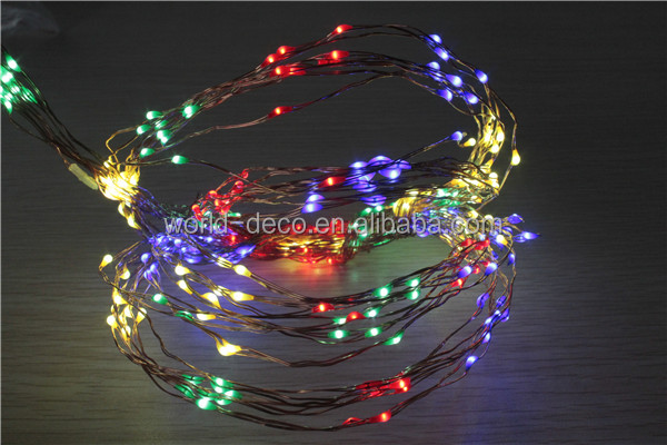 12v Copper Wire Led String Lights / Led 12v Christmas Tree String ...