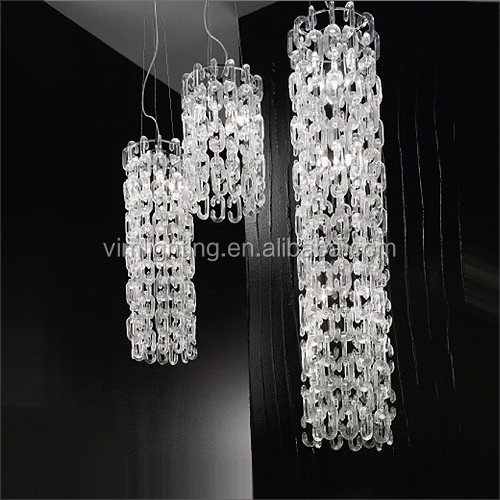 Modern clear glass chain chandelier 2618 8 buy chain chandelier modern clear glass chain chandelier 2618 8 mozeypictures Gallery