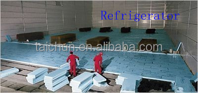 Supporting heat preservation material underfloor insulation board
