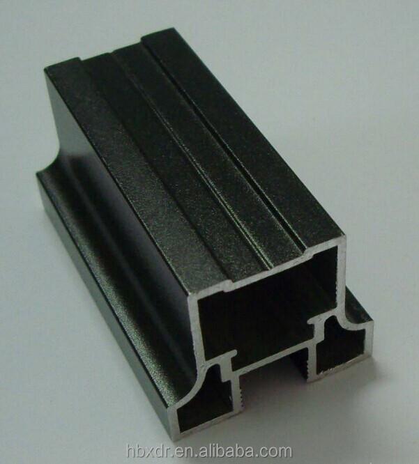 Extruded Black Anodized Aluminum/ Surface Treatment ...