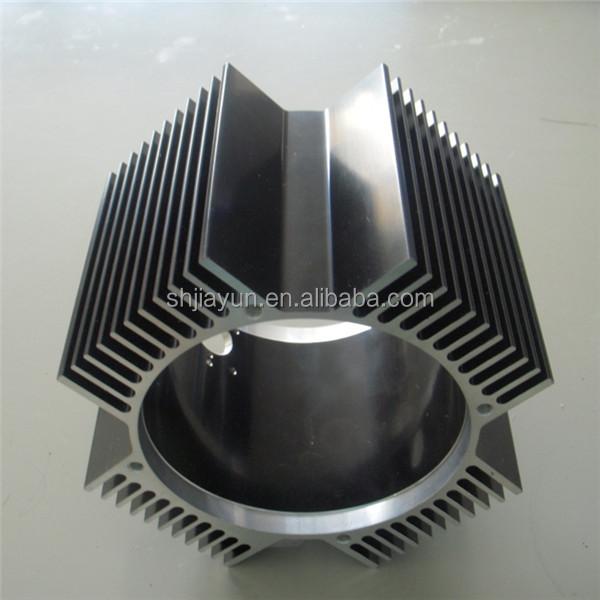 Corrugated Aluminum Fin Industrial Heat Sink From Jiayun Aluminium ...